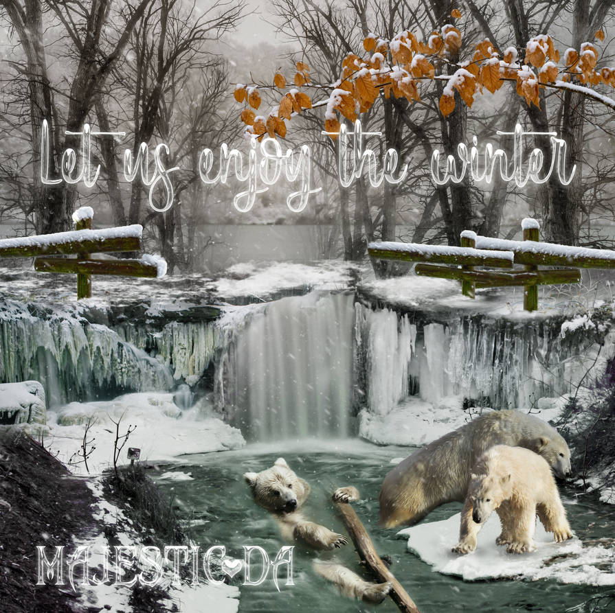 Let us enjoy the winter 2019-Layout by GothLyllyOn