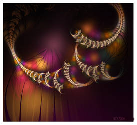 Curtain Fall by 21citrouilles