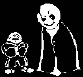 gasters long lost boy...very emotional.....((SAD)) by PizzaTony
