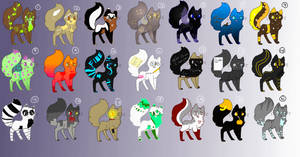 1 Point Adoptables 6/21) by FluffyDisorder