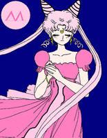 Princess Lady Serenity anime by XNekoXMika