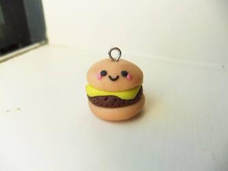 Kawaii Cheeseburger by AutumnLeong