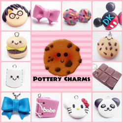 Made to Order Polymer Clay Charms by AutumnLeong