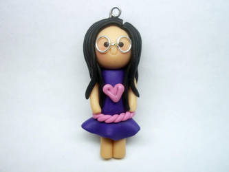Nerdy Polymer Clay Chibi by AutumnLeong