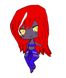 Xull in Alya's clothing by CrypticStar