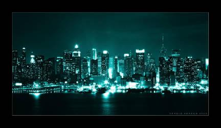 Midtown Manhattan by Sonikblue