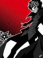 Persona 5 - Joker by PrivateCaller