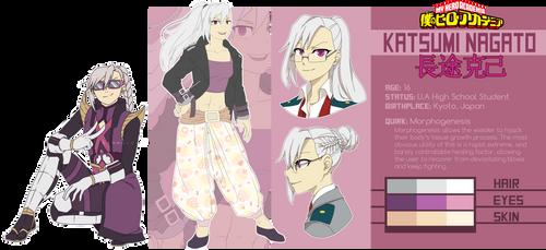 [BnHA OC Profile] Katsumi Nagato by Kemmasandi