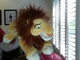 Adult Simba Plushie by FireNationPhoenix