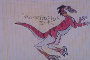 Zuko Velociraptor by FireNationPhoenix