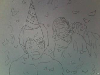 Happy Happy Birthday I'm Sorry That I'm Late by FireNationPhoenix