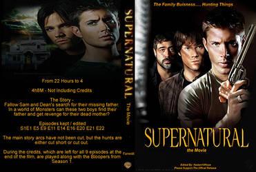 Supernatual The Movie - DVD Case by GreedLin