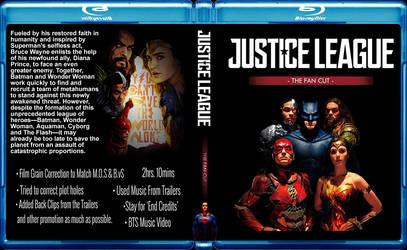 Justice League Fan Edit BluRay Cover by GreedLin
