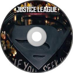 Justice League Fan Edit - Disc Art 1 by GreedLin