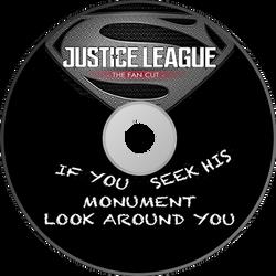 Justice League Fan Edit - Disc Art 2 by GreedLin