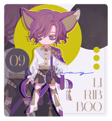 Liribboo #09 Auction [CLOSED] by Muagg
