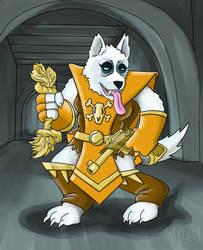 Woof Warrior Priestess by RILEY23