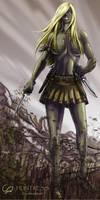 Jaghut: Huntress by Shadaan