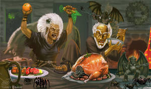 TURKEY DINNER by Shadaan