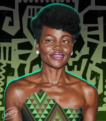 Study - Lupita Nyongo-o by Shadaan