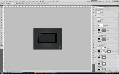 iPad XL Concept (Process) by rlharris9337