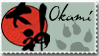 Okami Stamp 2 by Kixxar