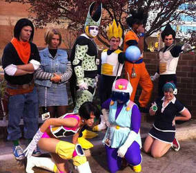DBZ Photoshoot Anime USA 2010 by LiveActionVegeta