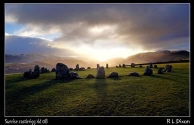 Castlerigg sunrise by richardldixon
