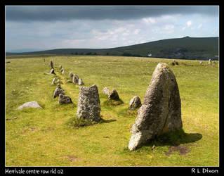 Merrivale stone row rld 02 by richardldixon