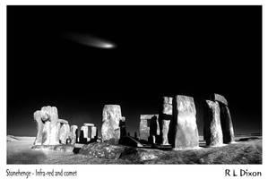 Stonehenge and comet by richardldixon