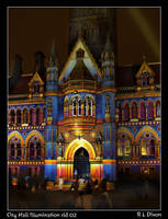 City Hall Illumination rld 02 by richardldixon