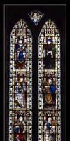 Bakewell Church Window rld 08 by richardldixon