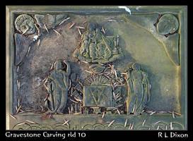 Gravestone Carving rld 10 dasm by richardldixon