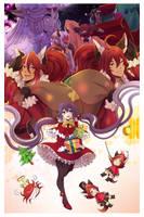 Spirit Parade: Merry Christmas by Rinslettuce