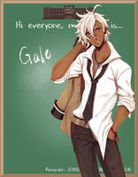 EE: HS AU Gale by Rinslettuce
