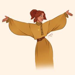 Anastasia by peachyteadesign