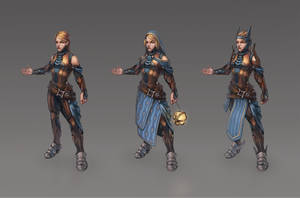 Character concept study by ShivaInEx