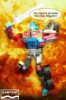 G2 Laser Optimus Prime by bobrampage
