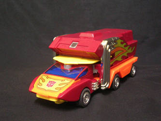 Rodimus Prime - vehicle mode by bobrampage