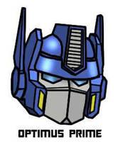 Optimus Prime's Head - Color by bobrampage