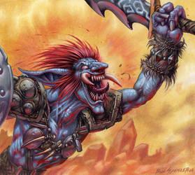 Berserk Troll by fobiapharmer