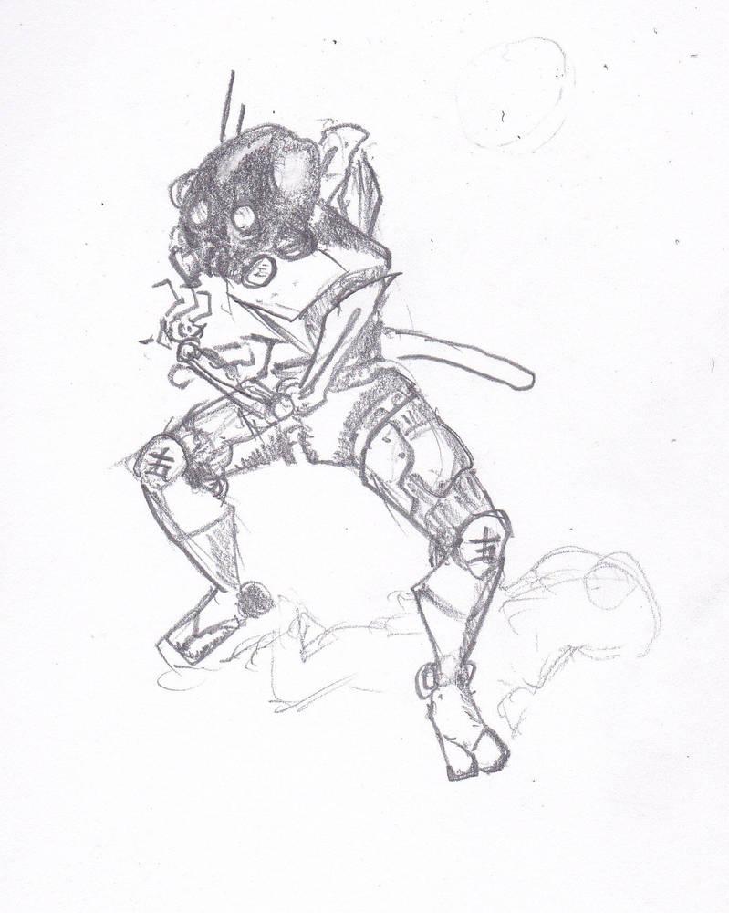 Robo Ninja by ChronicGuardian