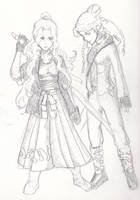 Sisters Ryuen, Tomboy Style by ChronicGuardian