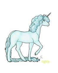 Rynn unicorn form by limeykat
