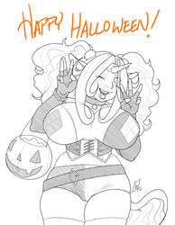 Happy Halloween! by limeykat
