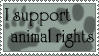 .:: Animal Rights Stamp ::. by loneantarcticwolf