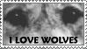 .:: I Love Wolves ::. by loneantarcticwolf