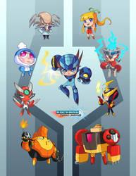 Rockman Turbo Buster by zeoarts