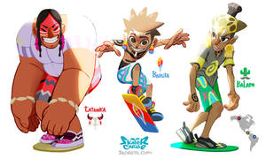 Skater Caribe Complete by zeoarts