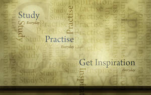 Typography Wallpaper by soumyasm